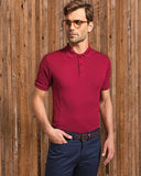 Mens' Coolchecker Plus Piqué Polo with CoolPlus