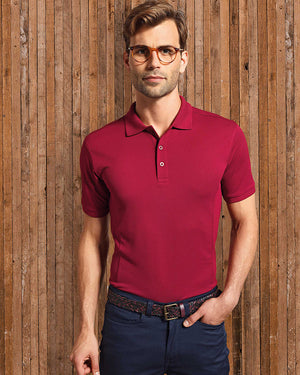 Men's Coolchecker Plus Piqué Polo with CoolPlus