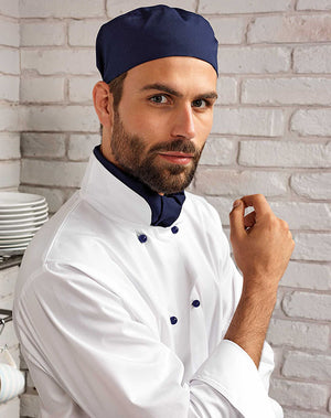 Chef wearing the Chef's Scarf