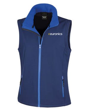 Euronics Ladies Softshell Gilet