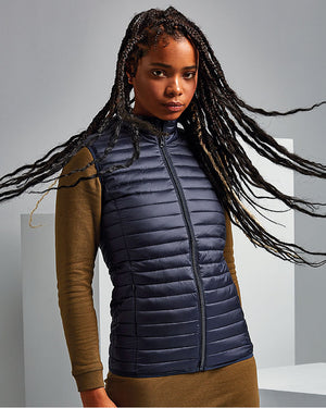 Ladies Tribe Fineline Padded Gilet