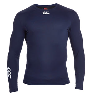 Canterbury Thermoreg Long Sleeve Top Junior Navy