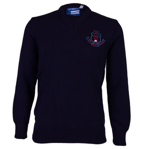 CUS V-Neck Pullover (Jnr-4th Yr)