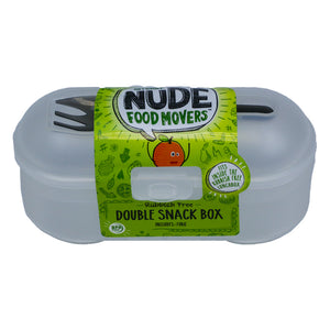Nude Food Movers Double Snack Box (Asstd. Colours)