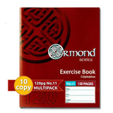 Ormond A11 120 Page Copy Book (10 Pack)
