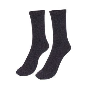 PEX Boys' Grey Ankle Socks (2 Pk)