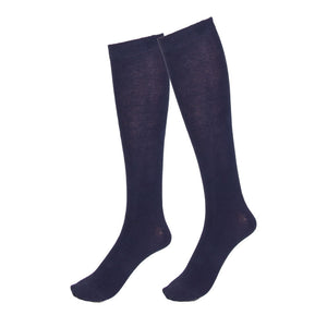 PEX Navy Knee Socks (2 Pack)