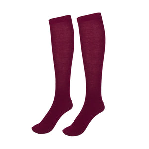 PEX Wine Knee Socks (2 Pack)
