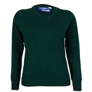 Rathdown School Green Pullover