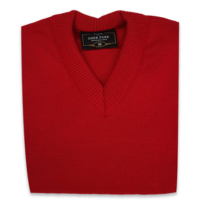 Red School Pullover
