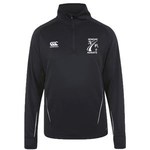WSKF Senshi Karate 1/4 Zip Midlayer