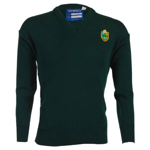 St. Conleth's Green Pullover (1st - 3rd Year)