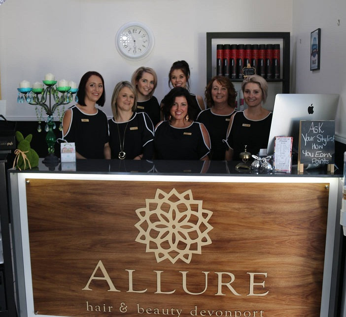 Silver Belle Design - Corporate Signage - Allure Devonport