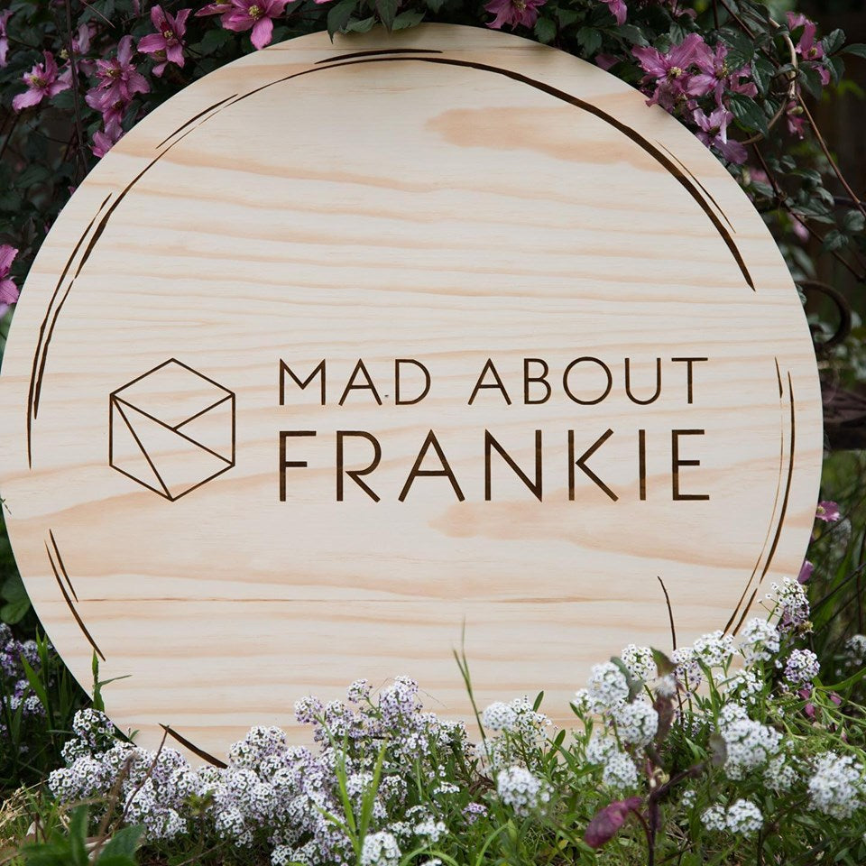 Silver Belle Design - Corporate Signage - Mad About Frankie