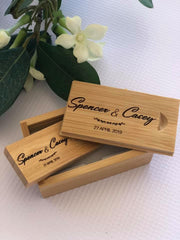 Silver Belle Design - Engraved Timber USB