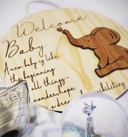 Silver Belle Design - Nursery Sign