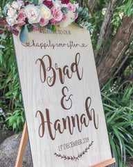Silver Belle Design - Rustic Sign