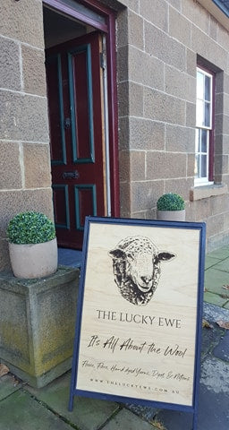 Silver Belle Design - Corporate Sign - The Lucky Ewe Oatlands Handmade