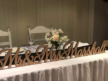Freestanding Bridal Sign - Silver Belle Design