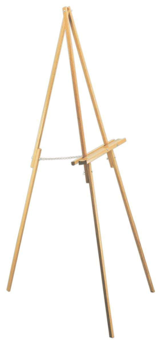 HIRE of Simple A Line Timber Easel - $50 weekend hire - Silver Belle Design