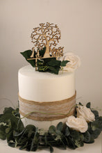 Cake Topper Tree With Bride And Groom