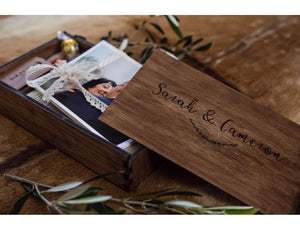 Timber Box - Walnut Stain Photo