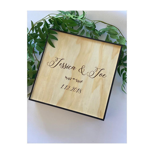 Wedding Keepsake Box Large