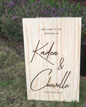 Custom Wooden A-Frame Rustic Sign - Design Your Own Custom