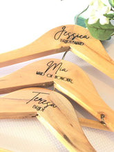 Timber Engraved Coat Hangers Personalised
