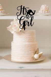Cake Topper - Its A Girl