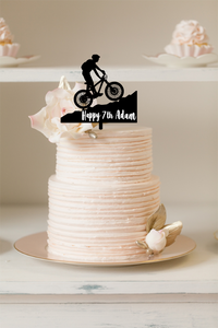 Cake Topper - Mountain Bike