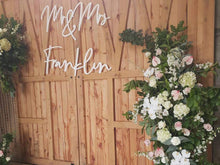 Giant Wedding Signage - 'Mr & Mrs' Sign - Homewares - Silver Belle Design - Silver Belle Design