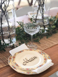 Timber Place Names or Place Settings