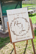 CUSTOM ORDER - Wooden Welcome Sign