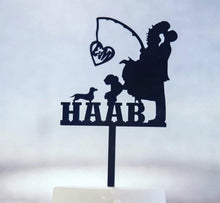 Wedding Cake Topper - Design Your Own Custom Order - Silver Belle Design