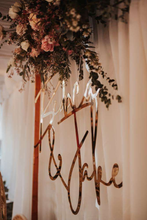 Script Wedding Sign Mr & Mrs Homewares