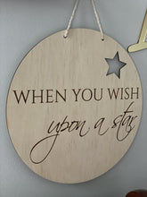 Nursery Wall Hanging Wish Upon a Star - Silver Belle Design