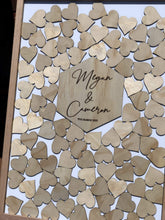 Wedding Drop Heart Frame - Additional Hearts - Drop Heart Frame - Silver Belle Design - Silver Belle Design