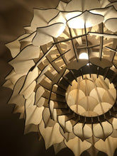 Tear Drop Light Fitting - Silver Belle Design