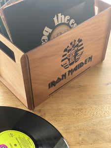 Vinyl Record Timber Box