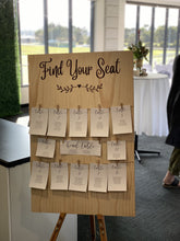 Table Seating Plan with paper options - Silver Belle Design