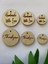 Custom Laser Cut Wooden Tags & Product Tags