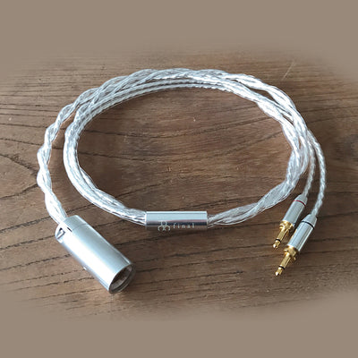 Final Audio Silver Coated Cable for Sonorous & D8000