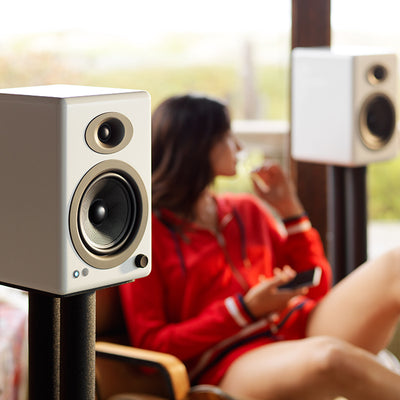 Audioengine A5+ Wireless Powered Bookshelf Speaker