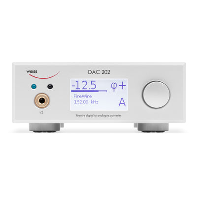 Weiss DAC202 FireWire DAC with Pre-Amp & Headphone Amplifier