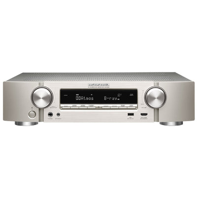 Marantz NR1608 Slimline 7.2 Channel Full 4K Ultra HD Network AV Receiver with HEOS