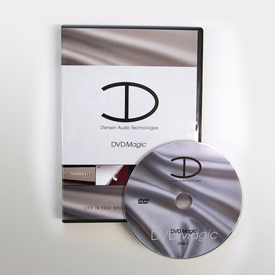 Densen DVD-Magic Demagnetizing DVD