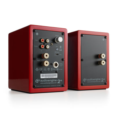 Audioengine A2+ Wireless Powered Desktop Speakers with Built-in DAC