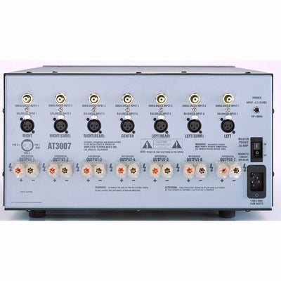 ATI AT3000 Series Multi Channel Amplifier