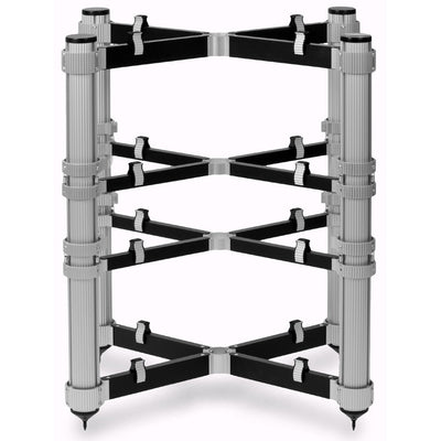 Solid Tech ROS Regular 4 - 4 Shelves Audio Rack + EVO